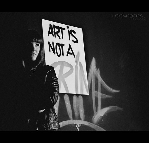 Art is not a CRIME. | by Ladymars Photography
