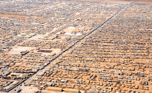 An Aerial View of the Za'atri Refugee Camp | by U.S. Department of State