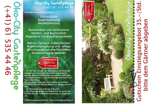 Oeko City Gartenpflege Basel Ko City Gartenpflege