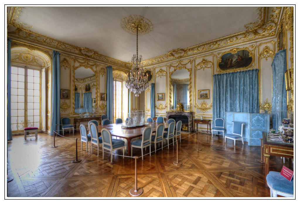 Superior ... The Porcelain Dining Room , Palace Of Versailles, France | By Ta92310