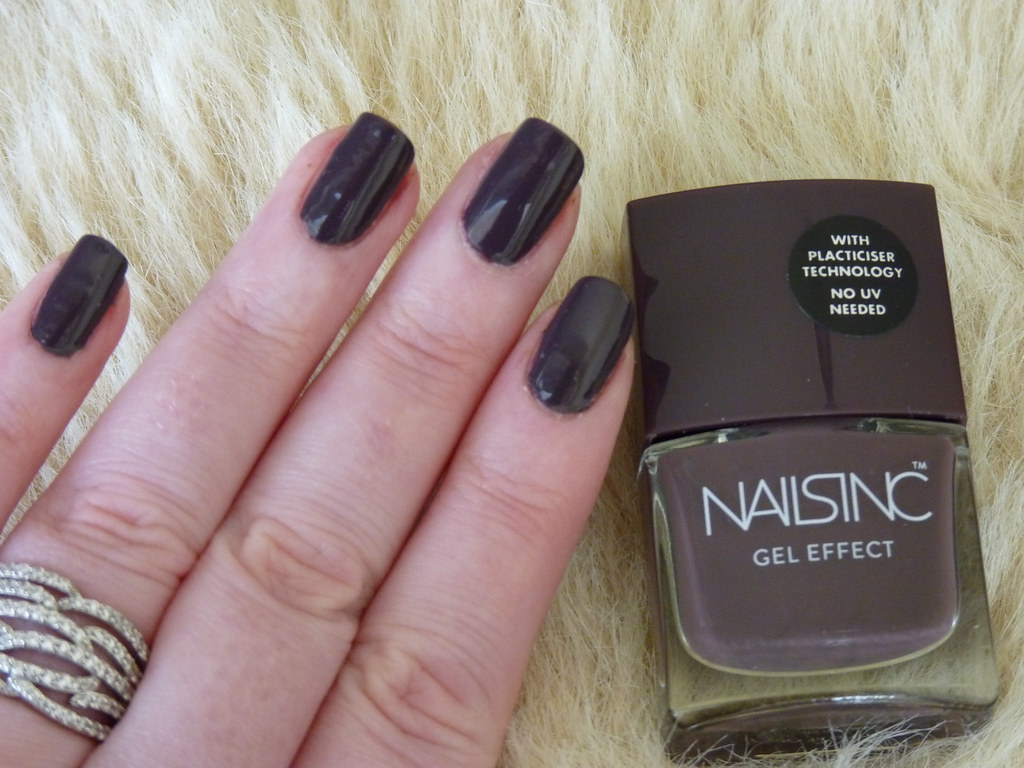 Nails Inc New Oxford Street Gel Effect | A fabulous chic mau… | Flickr