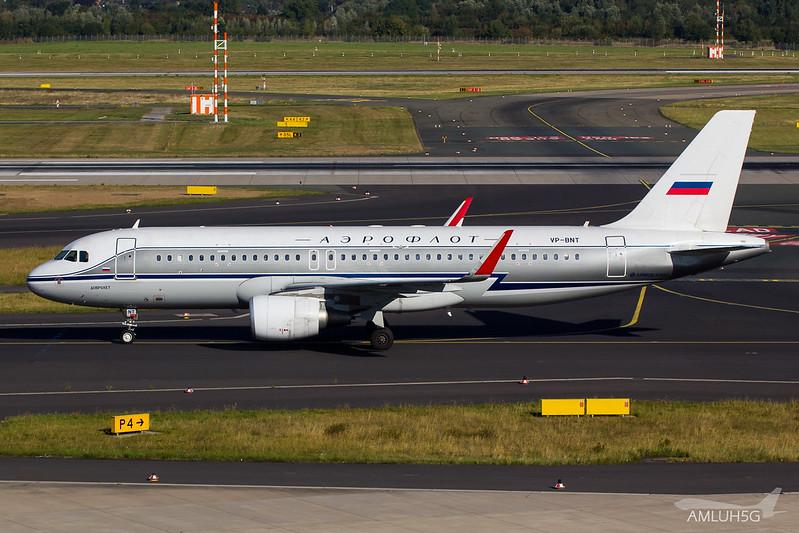Aeroflot - A320 - VP-BNT (2)