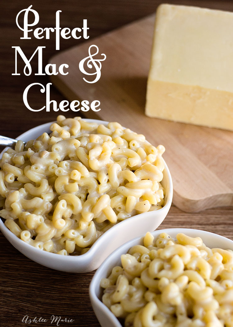 it doesn't get much better than mac and cheese. this homemade recipe has a fail proof sauce, three cheeses and a great flavor with shallots, garlic and chili powder