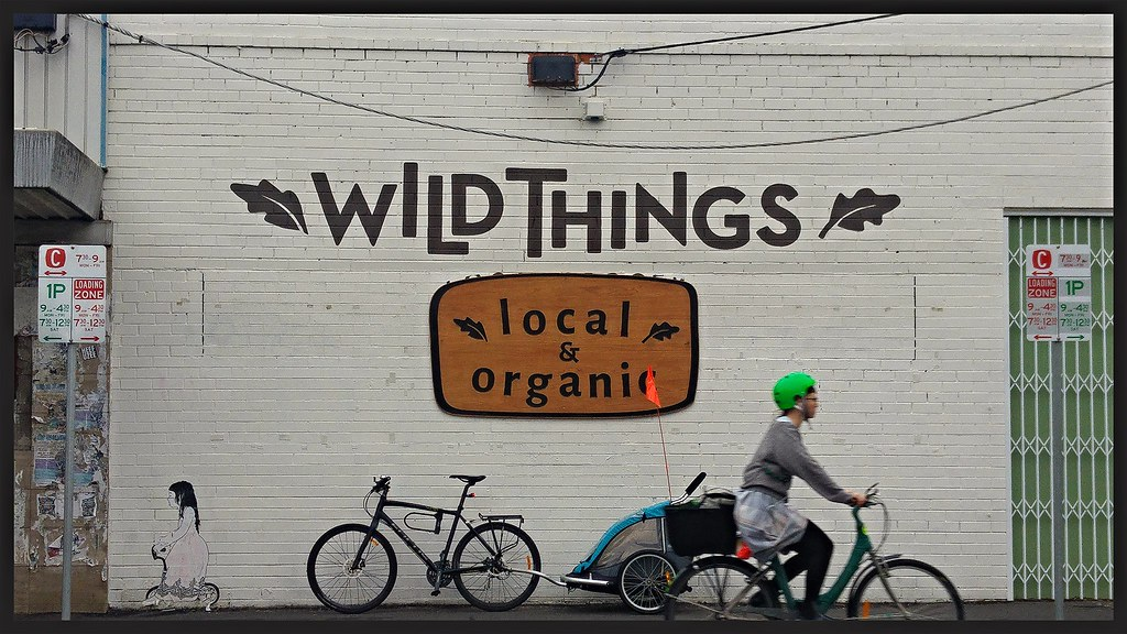 Be free art & Where the wild things are in North Fitzroy -…   Flickr