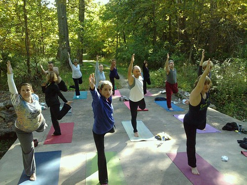 Yoga in the Woods2 | by Powell Gardens, Kansas City's botanical garden