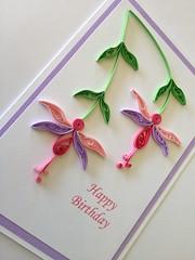 Handmade Birthday Card Handmade Quilled Birthday Card With Flickr