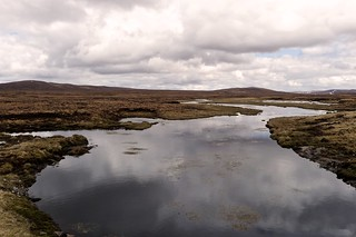 Marshy pools near Glendoe Reservoir | by Nick Bramhall