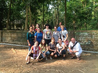 Group Photo in the Elephant Sanctuary | by The Center for International Education