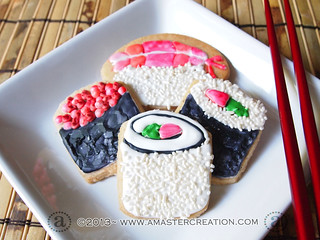 Isabella's Sushi Cookies | by AMasterCreation