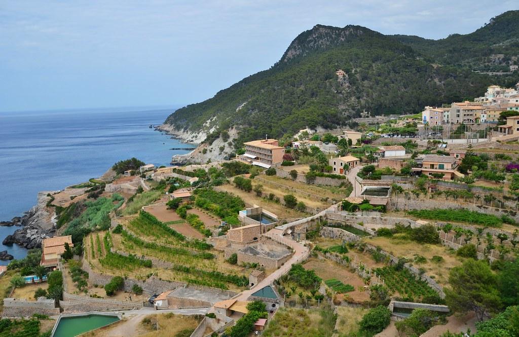 Serra de Tramuntana, Banyalbufar, Mallorca