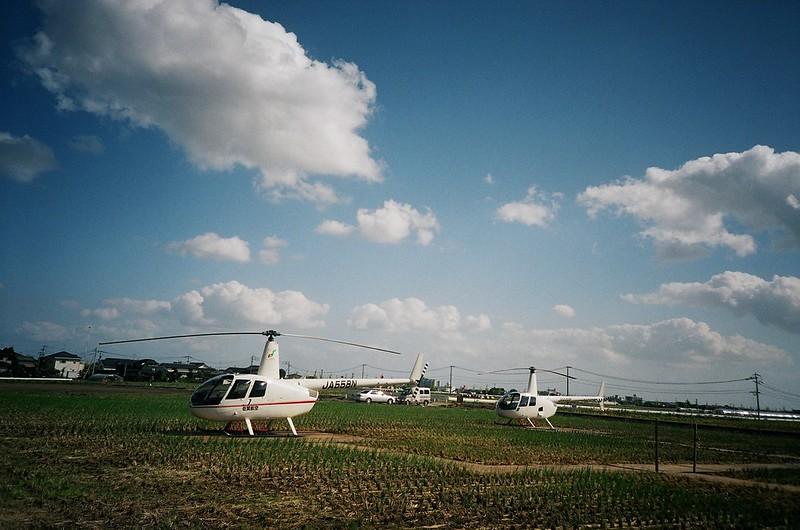 佐賀バルーンフェスタ ヘリコプター遊覧飛行