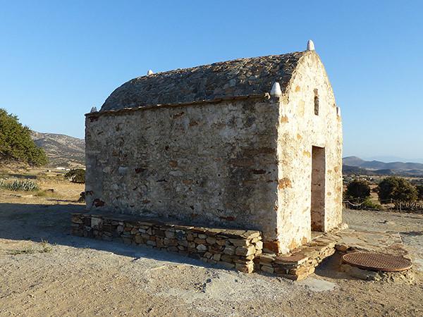 chapelle près du temple de demeter