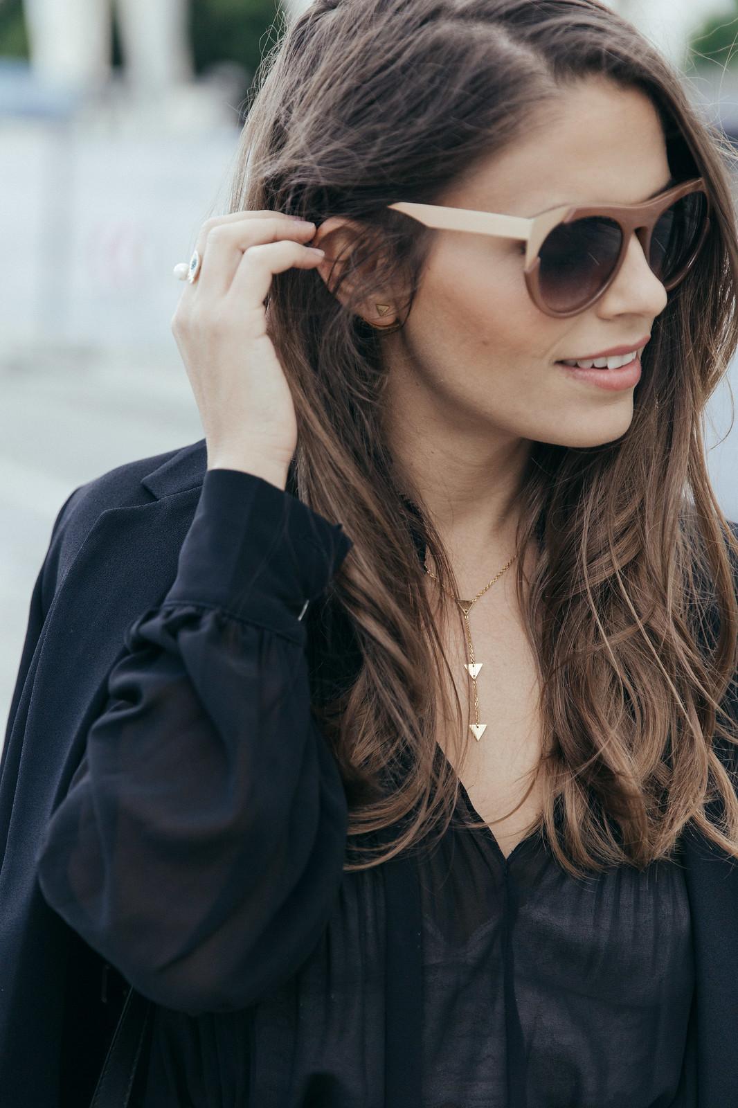Jessie Chanes Seams for a desire - Burgundy Midi Skirt -2