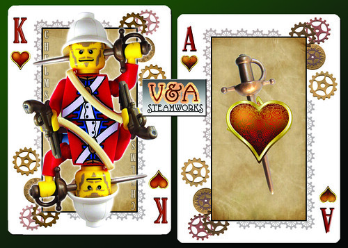King and Ace of Hearts by V&A Steamworks | by V&A Steamworks - Guy HImber