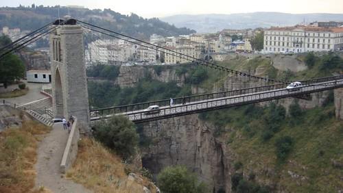 Constantine le pont sidi m 39 cid photo andr aymar yves for Piscine sidi m cid constantine