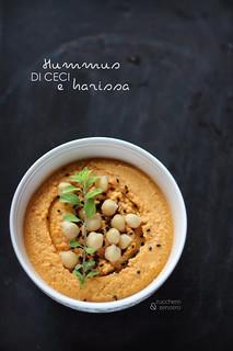 Hummus di ceci e harissa