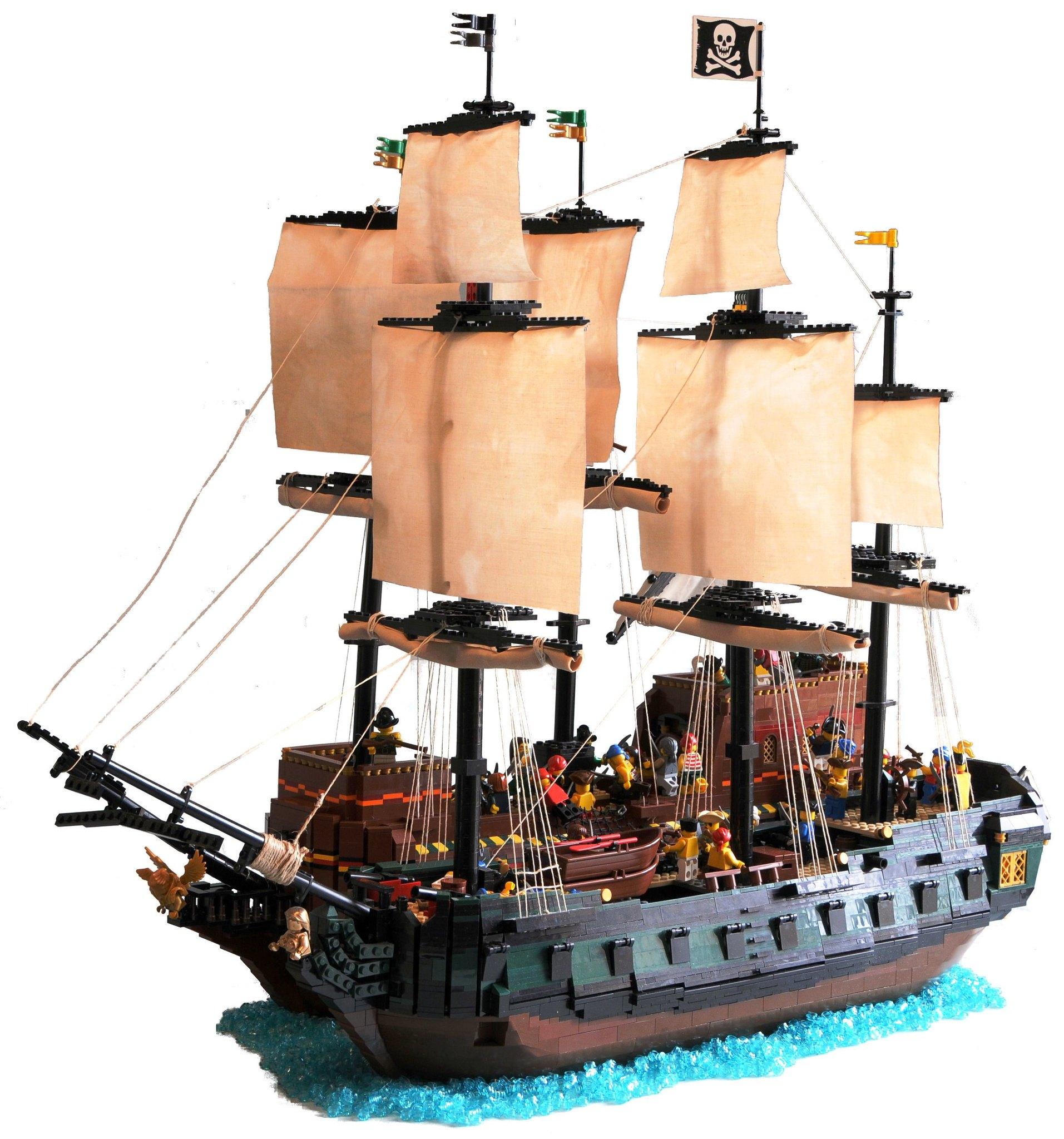 Taking the treasure galleon