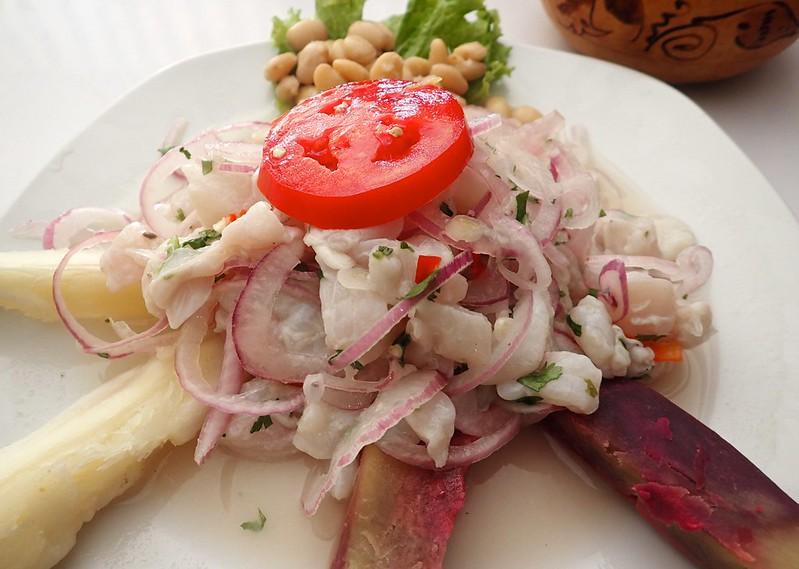 Cevichazo peruano.