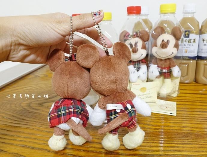 11 日本必買 午後的紅茶 米奇米妮吊飾娃娃限定組合