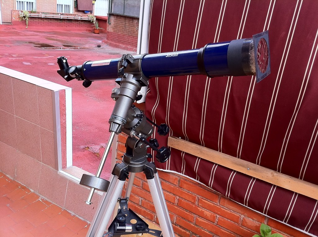 Bresser skylux preparado para fotografiar observar u flickr