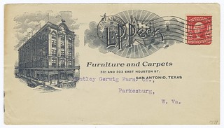 L. P. Peck Furniture + Carpets (San Antonio, Texas) 1905 | by peacay