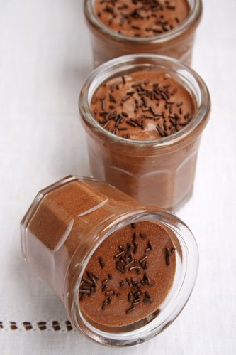 Mousse de Chocolate com Tangerina | by M Cruz