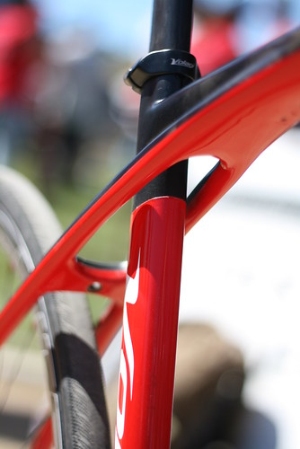Volagi seat tube detail | by Richard Masoner / Cyclelicious