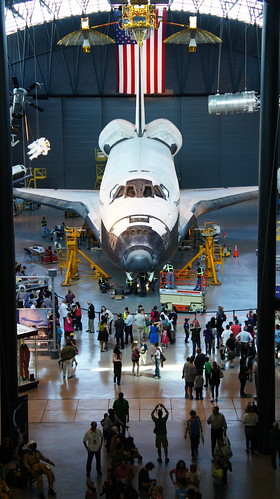 Space Shuttle Discovery at Udvar-Hazy Center | by brownpau