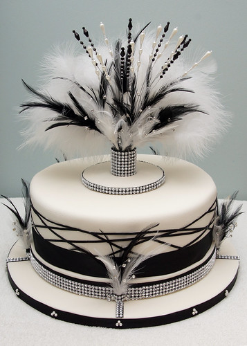 Cake Art N R Colony : Art Deco wedding cake Chris Wright Flickr