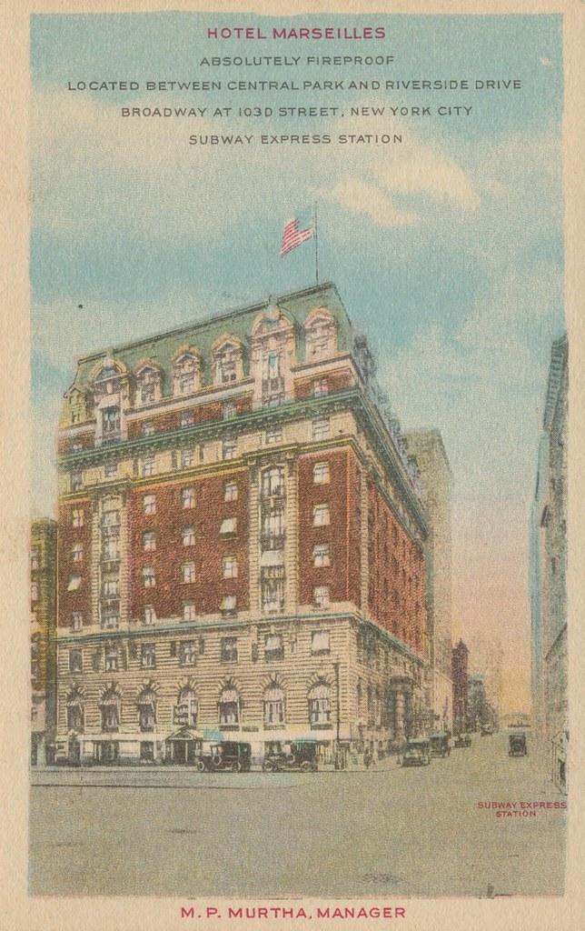 Hotel Marseilles - New York, New York