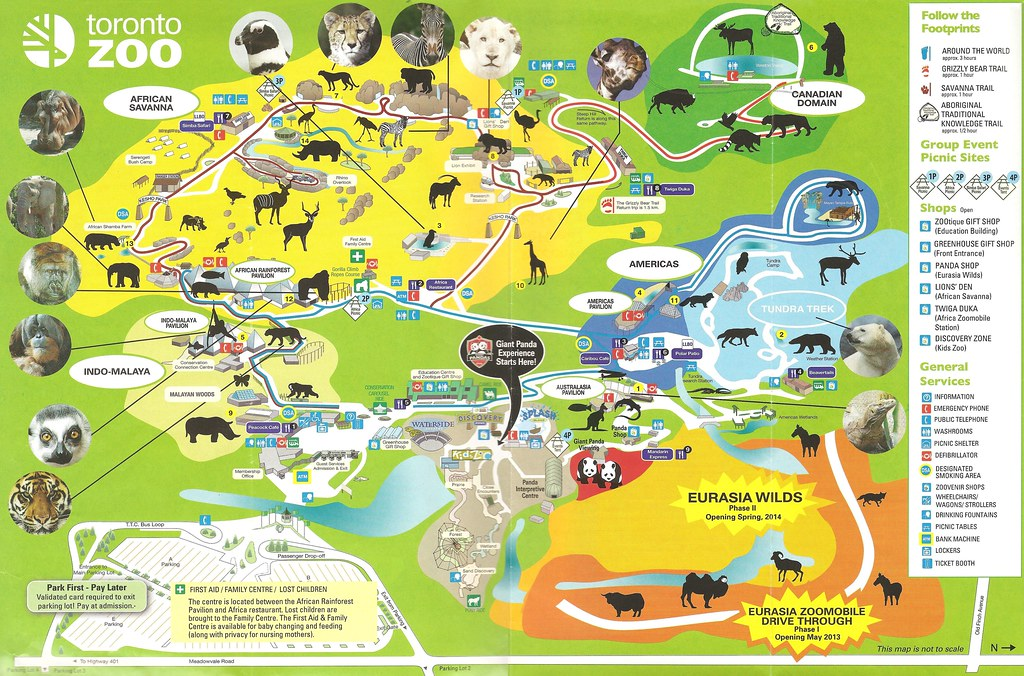 21st Toronto Zoo map lindasomervillerogerscom Flickr