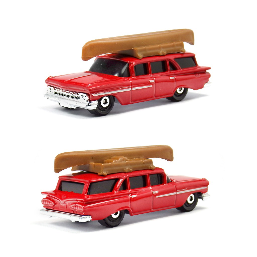 Matchbox - \'59 Chevy Wagon | Back to the good old days of Ma… | Flickr