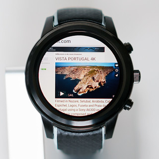 Smartwatch LEMFO LEM5 w. Chrome browser on 3D-Kraft.com | by H.Hackbarth