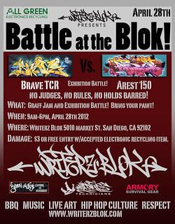 Battle on the Blok!  Brave Vs. Arest 150 | by WSTECH