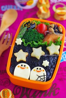 Ghosts Bento | by luckysundae