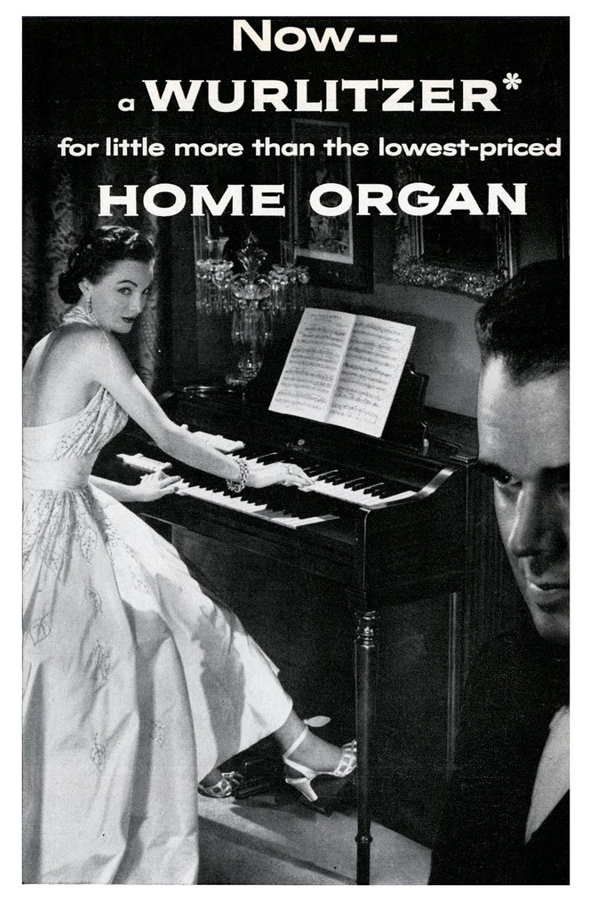 She Plays The Organ To Get Him In The Mood For Love Flickr