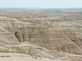 11 Big badlands overlook
