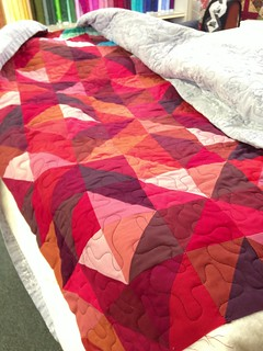 Kim's Quilt Ready to Bind | by Sarah.WV