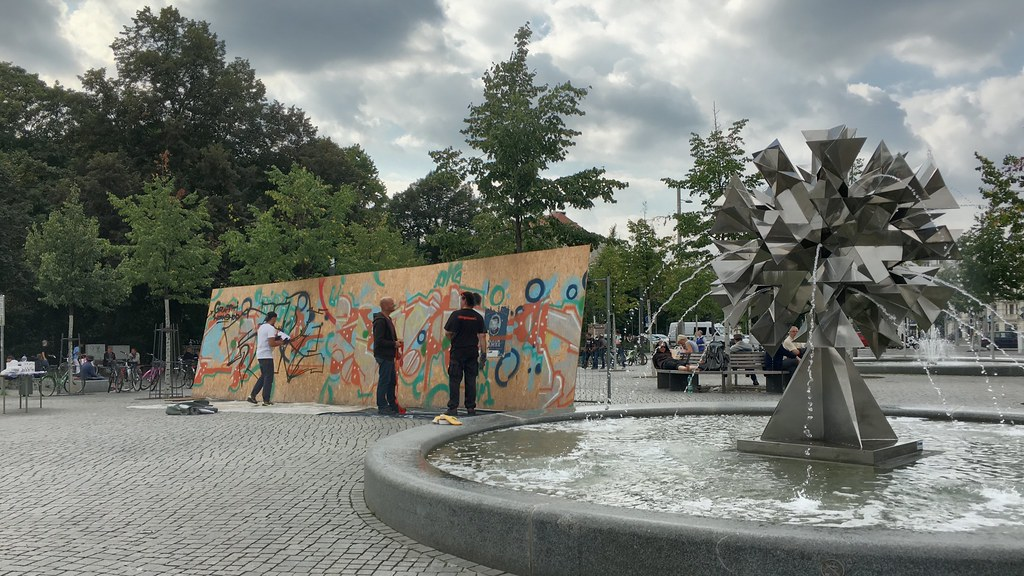 Street art in production