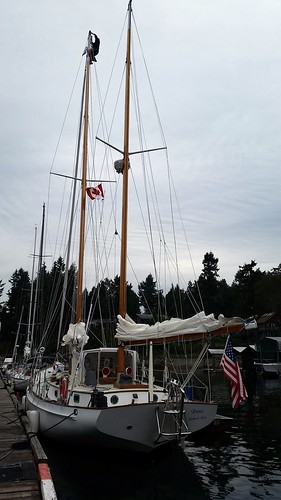 Mast Maintenance Pender Hbr | by Sailing P & G