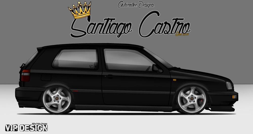 vw golf mk3 santiago castro diseños flickr