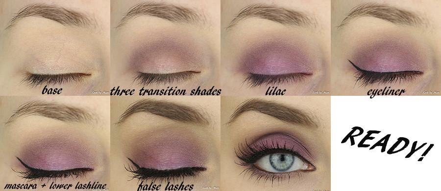 6 Lilac Violet Eye Makeup Tutorial Violetti Lila Silmmeik Flickr