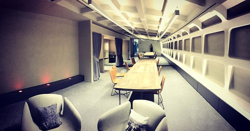 "New hidden ""Metro"" room at Capital One Towers Crescent office 