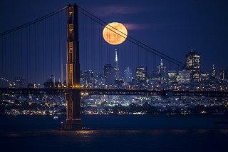 Moonrise Over San Francisco | by phil_mcgrew