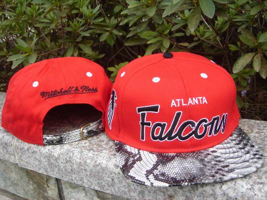 competitive price cd41b d245c NFL Atlanta Falcons Mitchell & Ness SnakeSkin Adjustable S ...