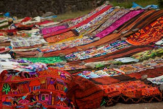 Peru - Cusco Sacred Valley & Incan Ruins 039 - textile handcrafts for sale at Tambomachay | by mckaysavage