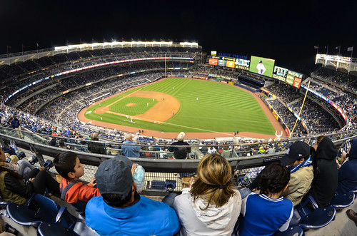 Yankee Stadium in Fisheye | by m01229