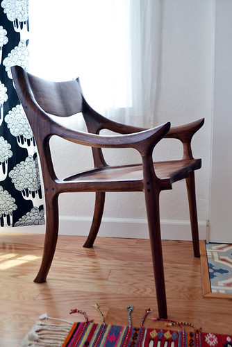 Handmade Low-Back Sculptured Chair by Me | by motoko smith