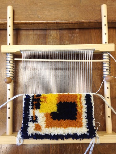 Knotted Pile Weaving | by Twill Power