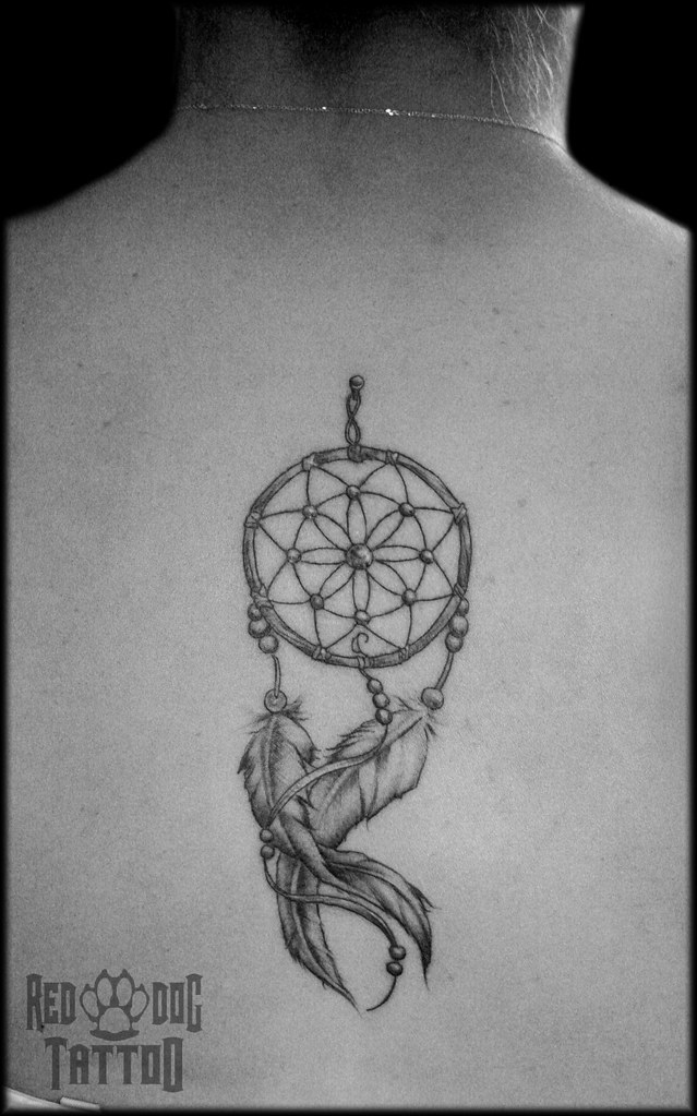 Dreamcatcher tattoo delicate and feminine dream catcher fo flickr dreamcatcher tattoo by red dog tattoo gumiabroncs Images